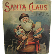 1889 Santa Claus & His Works Book by McLoughlin Bros.