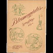 1893-94 Bloomingdales Holiday Catalog Toys
