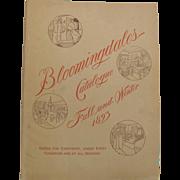 1893 Bloomingdale's Catalog Fall & Winter