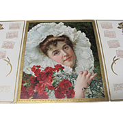 1905 Youth's Companion Calendar Beautiful Lady