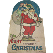 1917 Night Before Christmas Book Margaret Evans Price