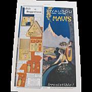 Art Deco 1920 Mavis Vivaudou Perfume Magazine Advertisement