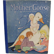 1929 Mother Goose Book Illustrated Fern Bisel Peat