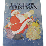 1932 Night Before Christmas Book Fern Bisel Peat
