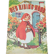 1937 Little Red Riding Hood Children's Book