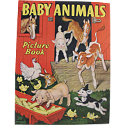 1938 Baby Animals Children's Book