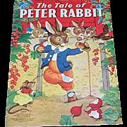 1938 The Tale of Peter Rabbit Children's Book
