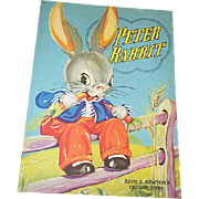 1938 Peter Rabbit Book by Ruth Newton