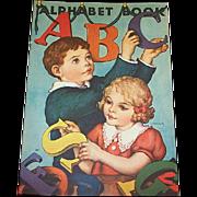 1939 ABC Alphabet Book By Whitman