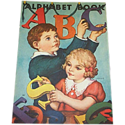 1939 ABC Alphabet Book By Whitman