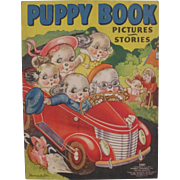 1939 Puppy Children's Book