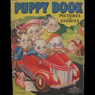 1939 Puppy Children's Book