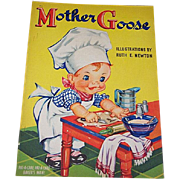 1940 Mother Goose Children's Book Ruth Newton