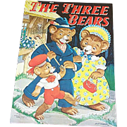 1941 The Three Bears Children's Book