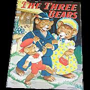 1941 The Three Bears Children's Book