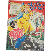1944 Mother Goose Children's Book