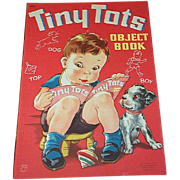 1944 Tiny Tots Object Children's Book Whitman Publishing
