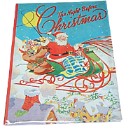 1945 Night Before Christmas Book Ethel Hays