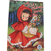1949 Little Red Riding Hood Children's Book