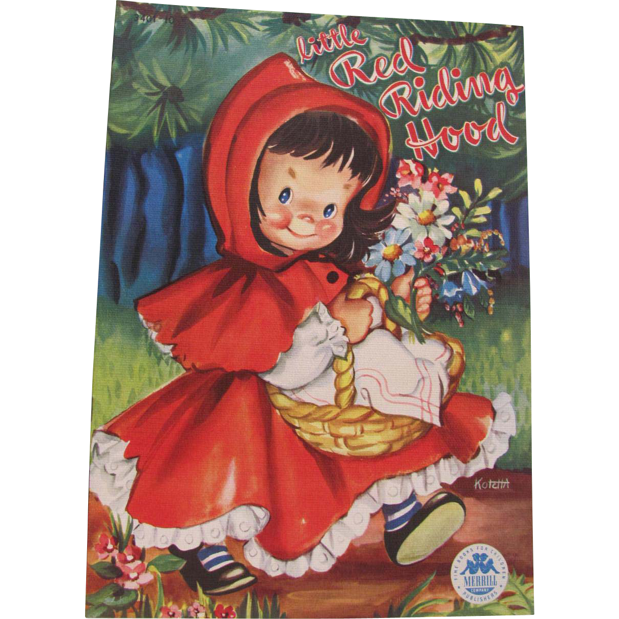 1949 Little Red Riding Hood Children's Book