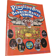 1970 Ringling Bros Barnum Bailey Circus 100th Anniversary Program
