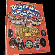 1970 Ringling Bros Barnum Bailey Circus 100th Anniversary Program