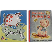 1940's Two Pigs Children's Books