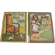 Pair 1881 Sugar Plums and Old Arm Chair Books