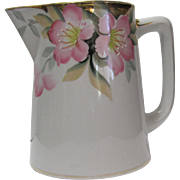 Noritake Pitcher Azalea Pattern
