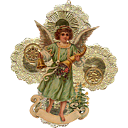 Child Angel Die-Cut Handmade Christmas Decoration #2
