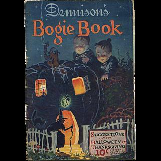 1925 Halloween Dennison Bogie Book
