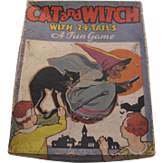Halloween Cat & Witch Party Game Boxed