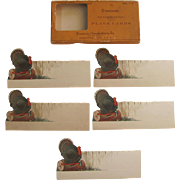 Dennison Boxed Thanksgiving Turkey Place Cards