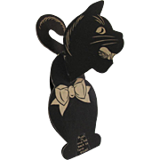 Halloween Black Cat Honeycomb Body Beistle