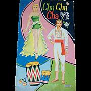 Vintage Cha Cha Cha Paper Dolls