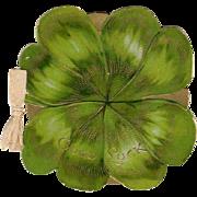 Embossed Die-Cut Good Luck 4 Leaf Clover Booklet