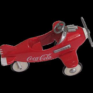Small Coca Cola Coke Pedal Airplane