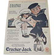 1919 Cracker Jack Magazine Advertisement