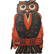 Halloween Owl Crepe Paper Folding Arms