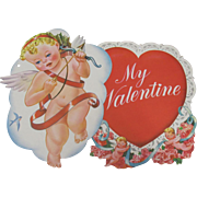 Pair Cupid & Heart Valentine Decorations