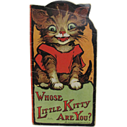 1913 Whose Little Kitty Are You Children's Book