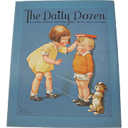 1933 The Daily Dozen Good Health Picture Book
