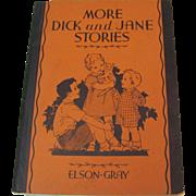 1934 More Dick & Jane Stories School Primer Book