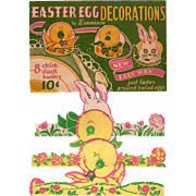 Easter Egg Decorations By Dennison