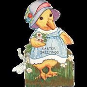 Embossed Die-Cut Little Duck Easter Booklet