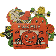 Halloween Envelope with 4 Cut-Outs