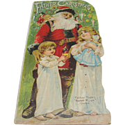 Father Christmas Long Book Raphael Tuck