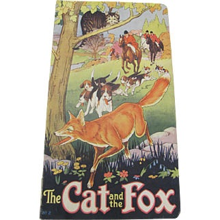 1930 The Cat and The Fox Children's Book