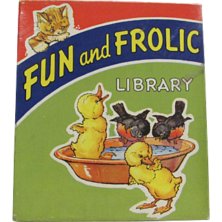 1942 Boxed Set 6 Books Fun and Frolic