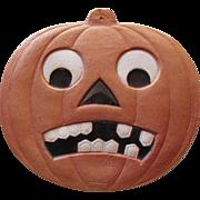 Halloween JOL Heavily Embossed German Die-Cut